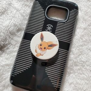 Speck Galaxy S7 Phone Case With Eevee Popsocket